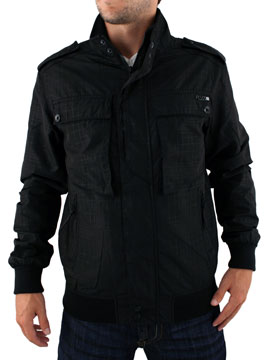 buy Fly 53 Black Jack Rock Check Zip Up Jacket now