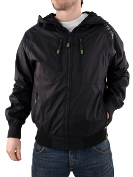 buy Mens Black Henleys Chambers Jacket now