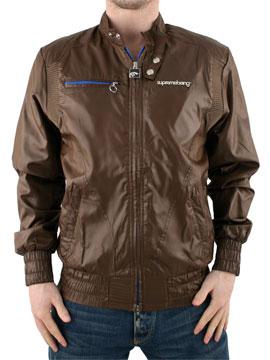 buy Supreme Being Brown Vortex Jacket now